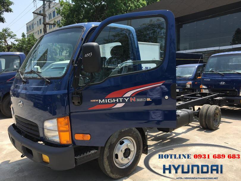 Xe Hyundai N250SL Thùng Dài