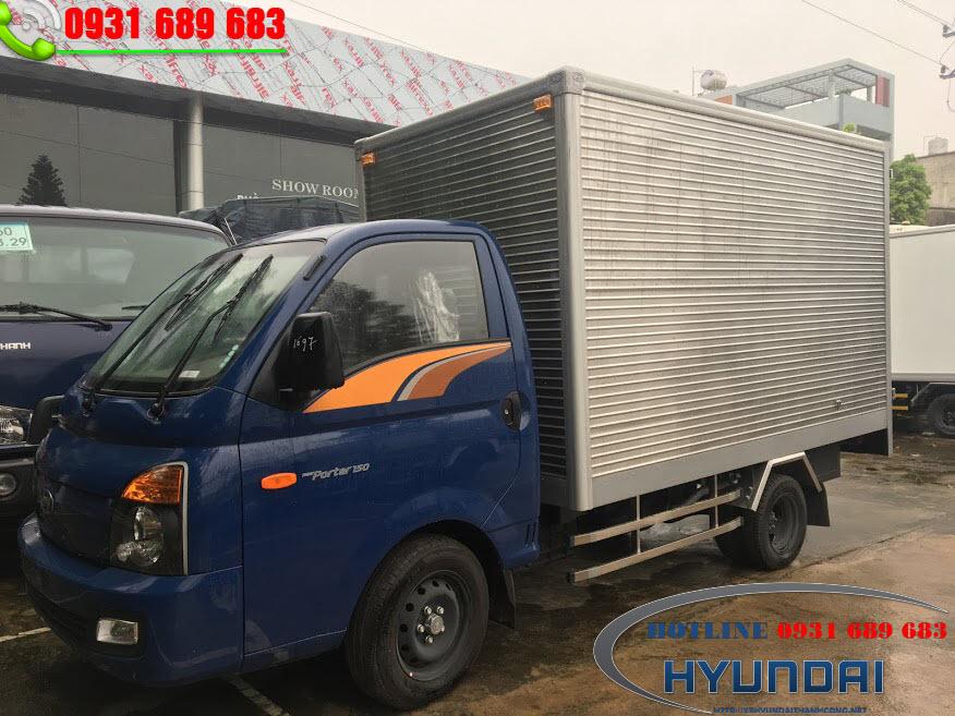 Hyundai 990kg porter 150 thùng kín