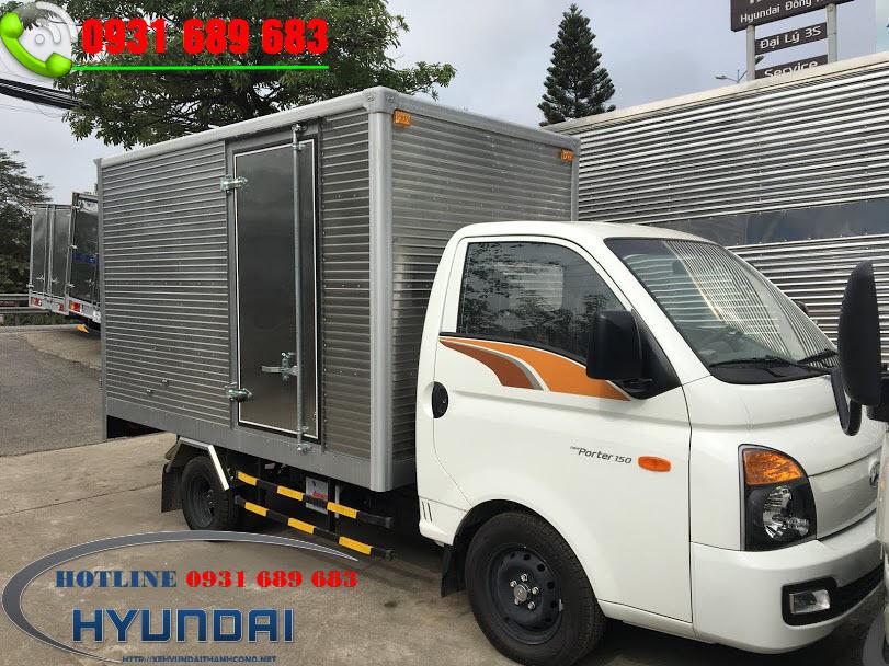 hyundai porter H150 thùng kín