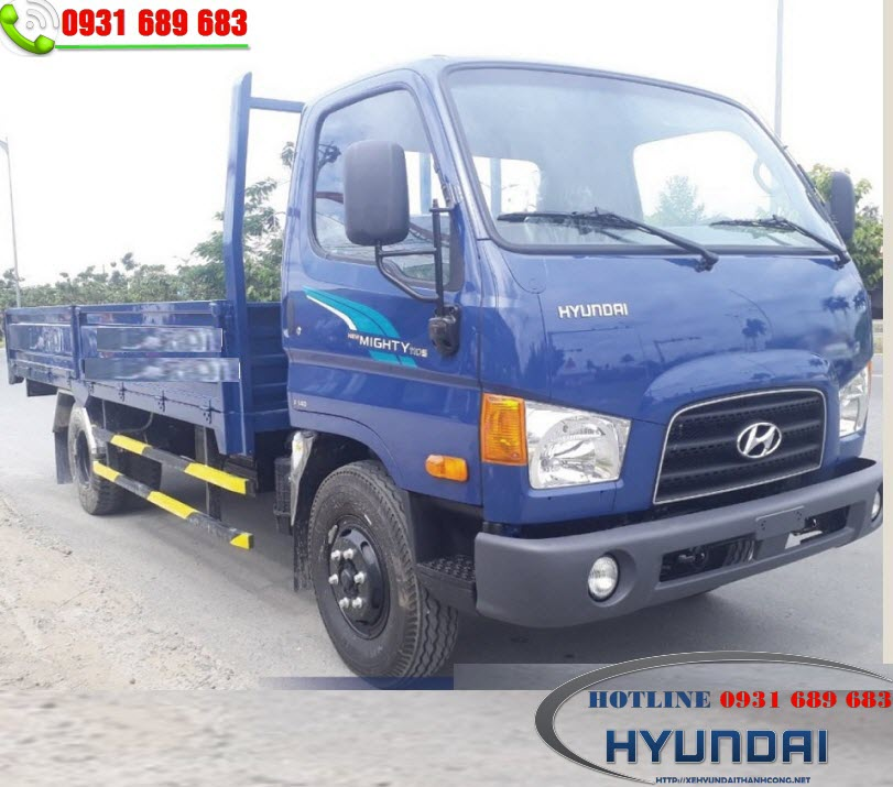 Hyundai Mighty 110S thùng kín