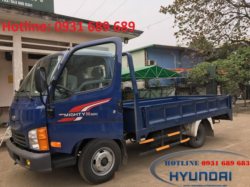 xe tải n250 thùng lửng