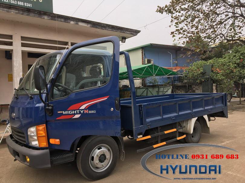 Hyundai N250 thùng lửng
