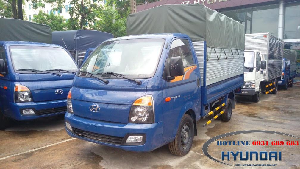Hyundai porter 150 thùng bạt
