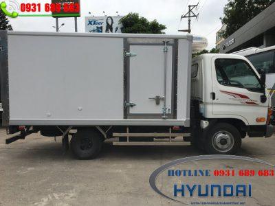 Xe tải đông lạnh 2.5 tấn Hyundai mới nhất