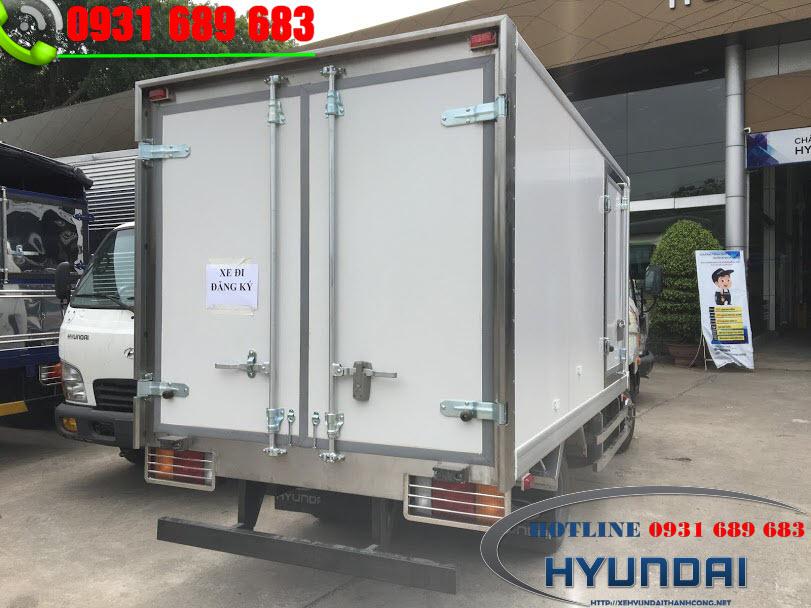 xe tải 2.5 tấn đông lạnh hyundai n250