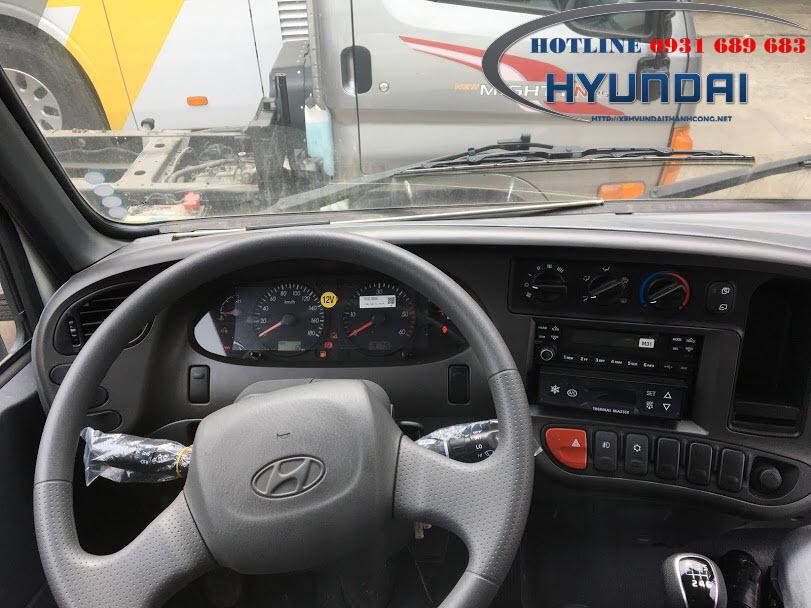 Hyundai Mighty N250 đông lạnh
