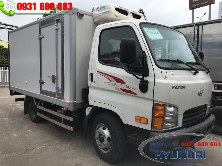 Xe Đông Lạnh 2.5 Tấn Hyundai N250