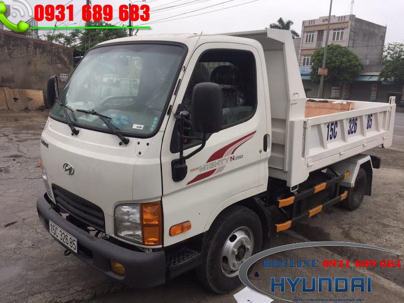 Hyundai N250 thùng ben