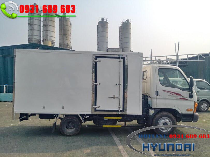 xe tải N250 thùng kín