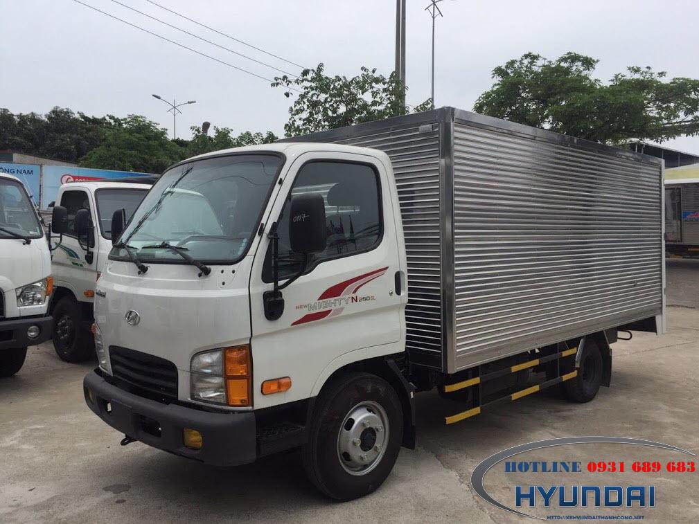 Hyundai N250Sl thùng kín