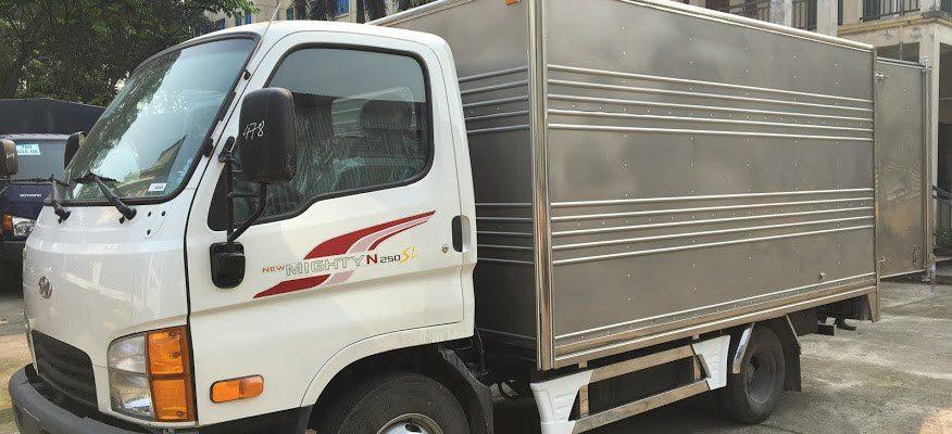 Giá xe N250SL thùng kín