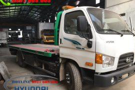Xe Tải Cứu Hộ Sàn Trượt Càng Kéo Hyundai 110S