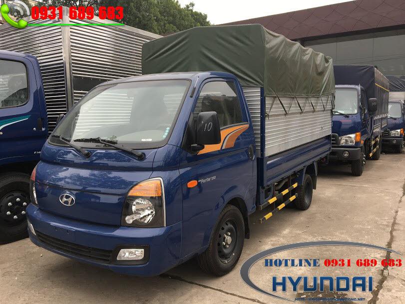 xe tải hyundai h1150 thùng bạt