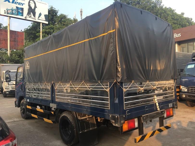 xe tải iz65 thùng bạt
