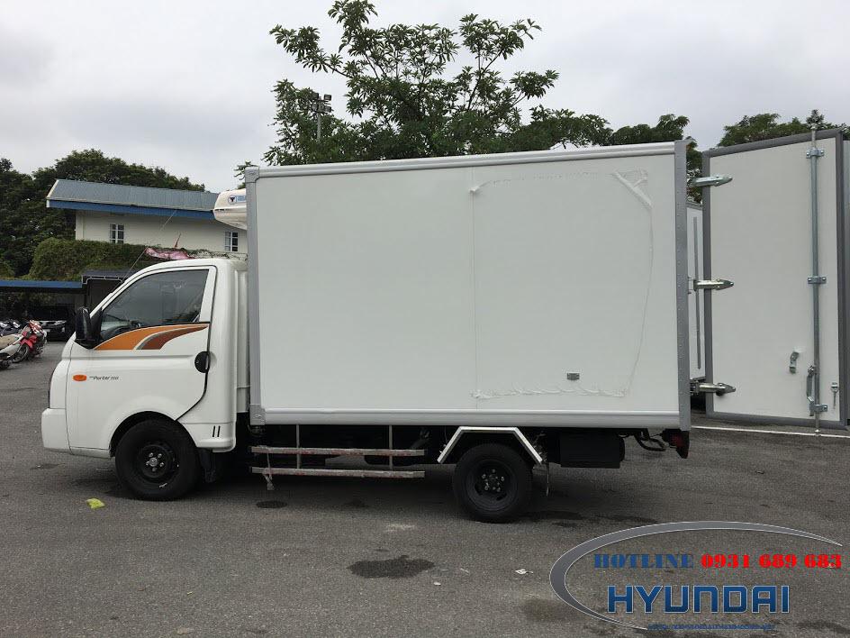 Hyundai 1.5 tấn H150 đông lạnh