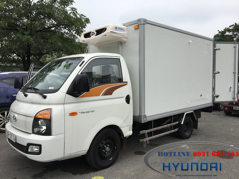 xe tải 1.5 tấn đông lạnh Hyundai Porter 150C