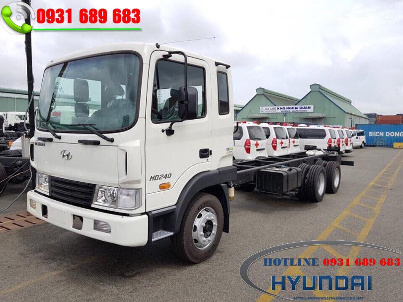 Hyundai HD240 3 chân nhập khẩu