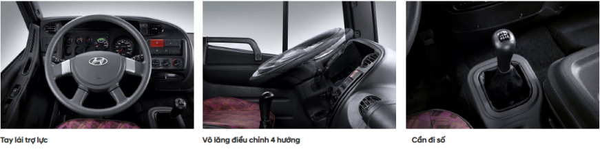 Hyundai HD240 3 chân