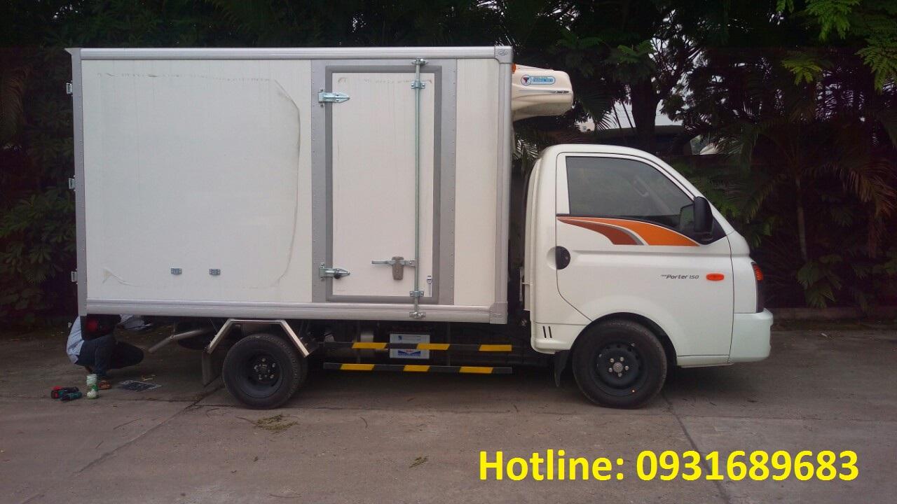 xe tải 1.5 tấn Hyundai Porter đông lạnh
