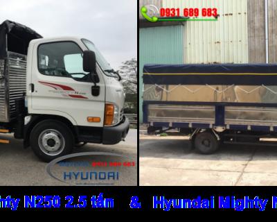 Giá xe tải Hyundai 2.5 tấn tốt nhất