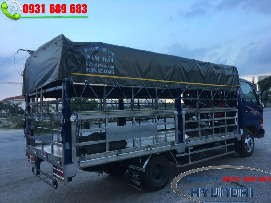 hyundai N250SL chở gia cầm