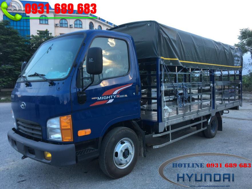 Xe 2.5 Tấn Chở Gia Cầm Hyundai N250SL 2019