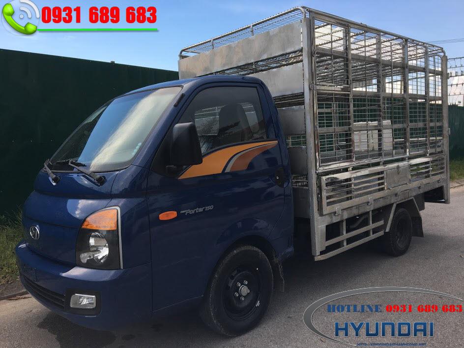 Hyundai H150 thùng chở già