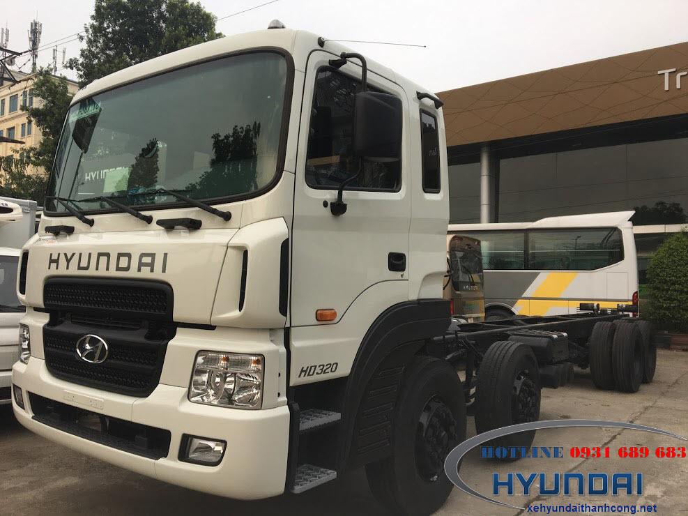 Hyundai HD320 17 tấn