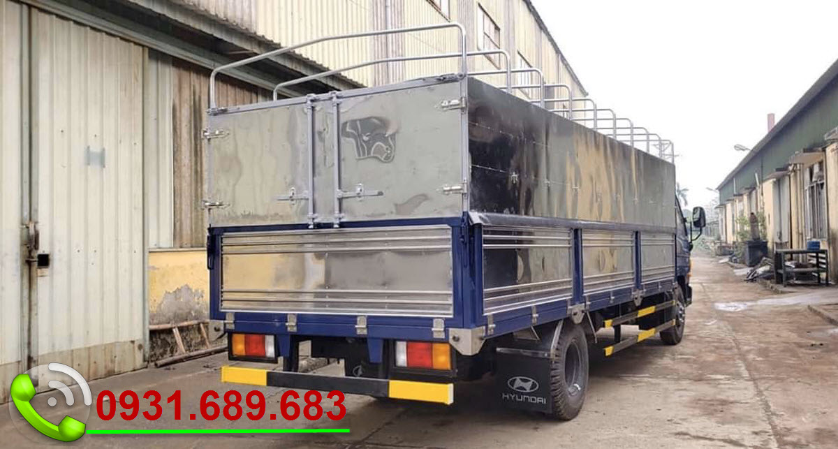 hyundai 110SL thùng dài