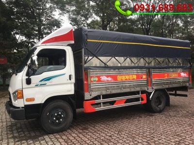 Giá Xe Tải Hyundai 110SP Thùng Bạt Inox