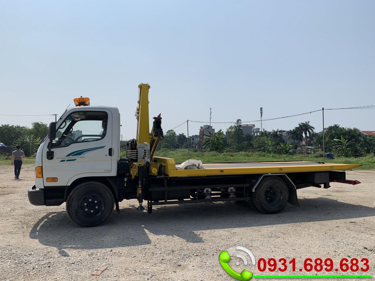 Hyundai 110SP cứu hộ giao thông