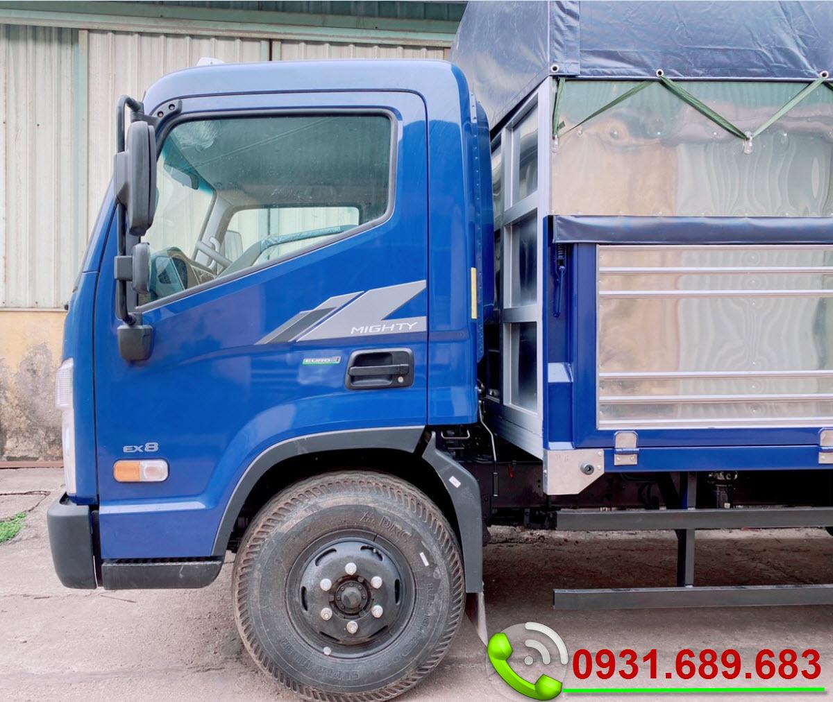 Hyundai Mighty EX8 thùng mui bạt