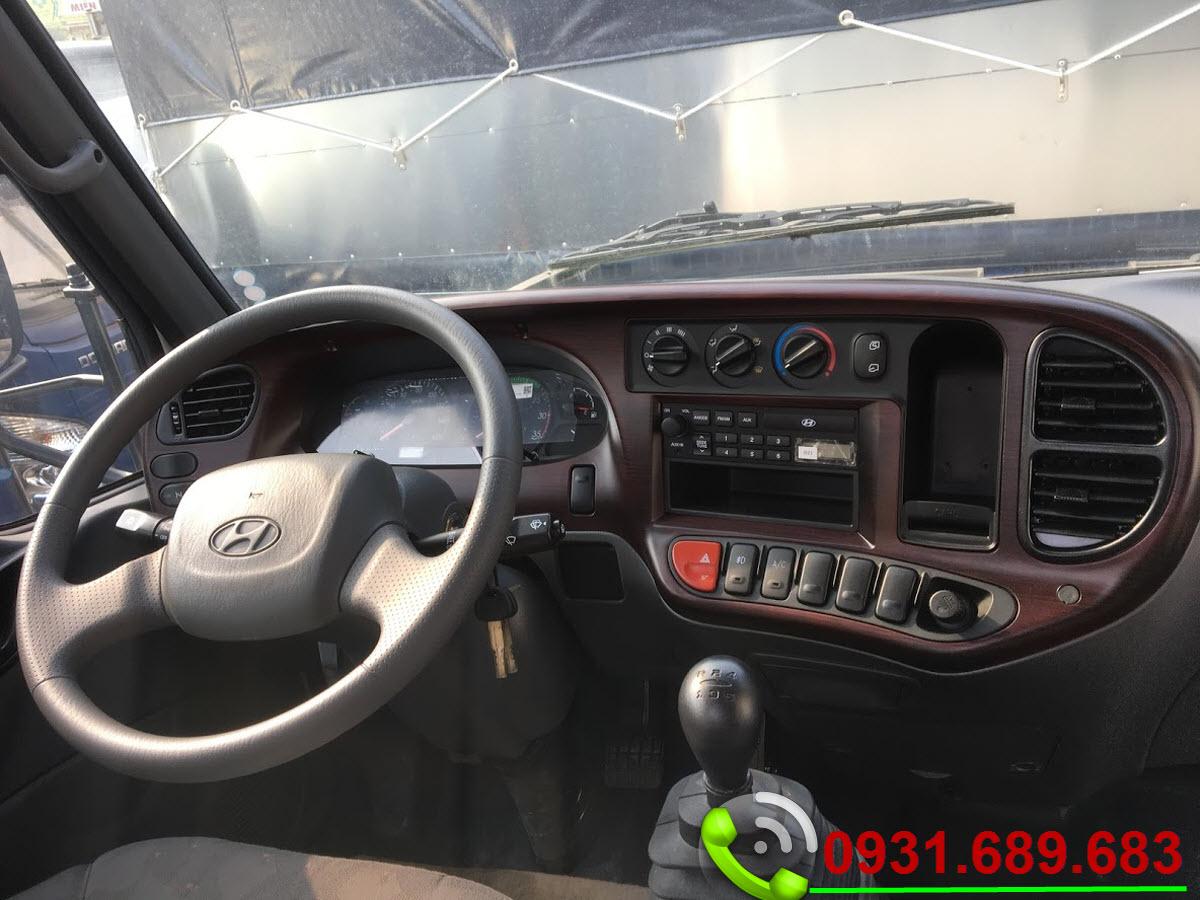 nội thất Hyundai 110sl