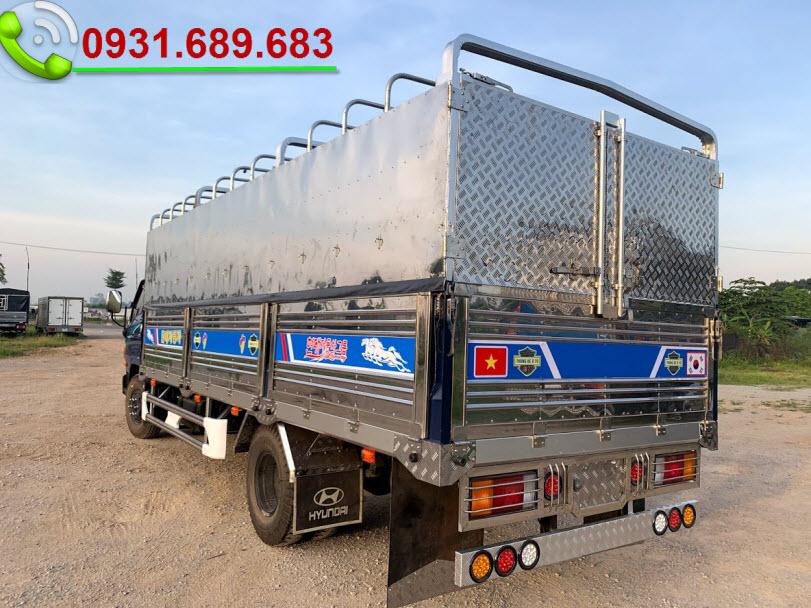 110SL thùng bạt đóng inox