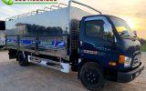 Hyundai Mighty 110SL Thùng Bạt Inox