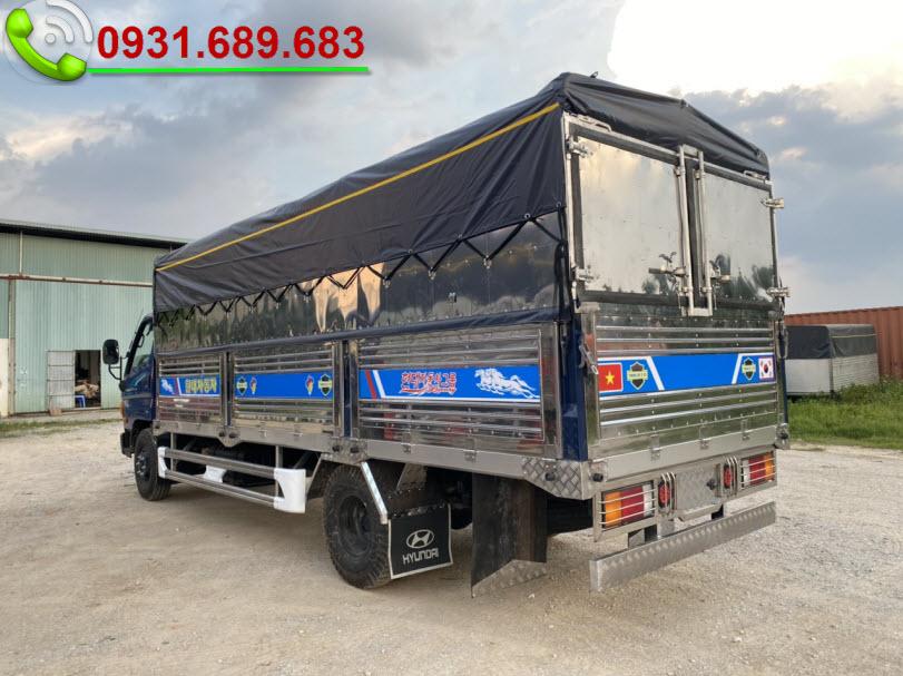 Hyundai Mighyt 110XL thùng bạt