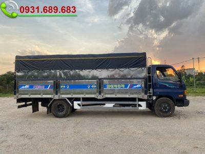 Giá xe tải Hyundai 110XL thùng dài 6m2