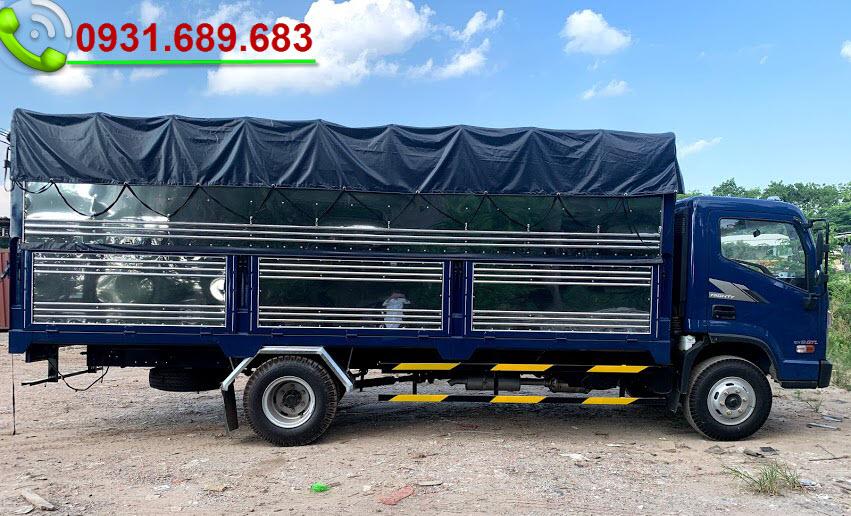 xe tải ex8 gtl thùng bạt