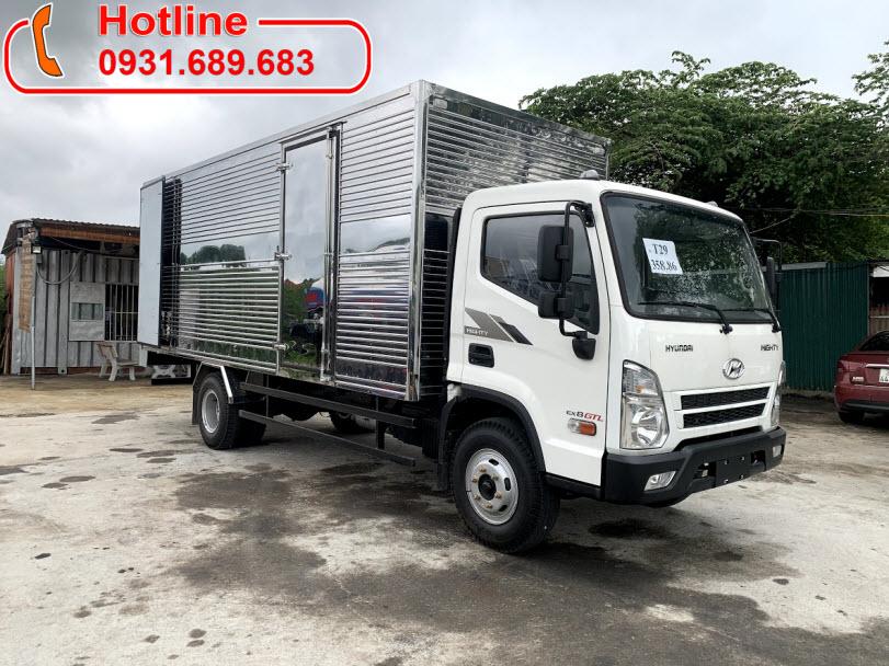 Xe Tải Hyundai 7 tấn Mighty EX8 GTL Thùng Kín