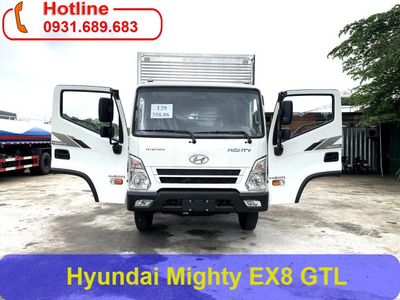 Mighty EX8 GTL thùng kín