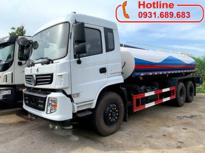 Giá xe phun nước rửa đường DONGFENG nhập khẩu