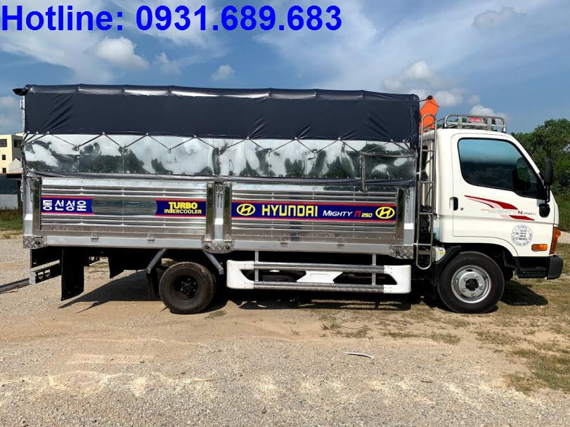 Hyundai Mighty N250SL thùng bạt