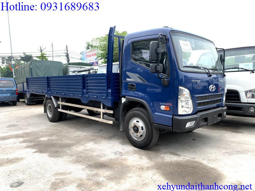 Hyundai mighty ex8 gtl thùng lửng