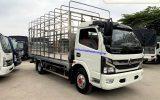 Xe tải 5 tấn Nissan K6 chở gia cầm