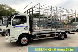 Xe tải 5 tấn chở gia cầm Nissan K6
