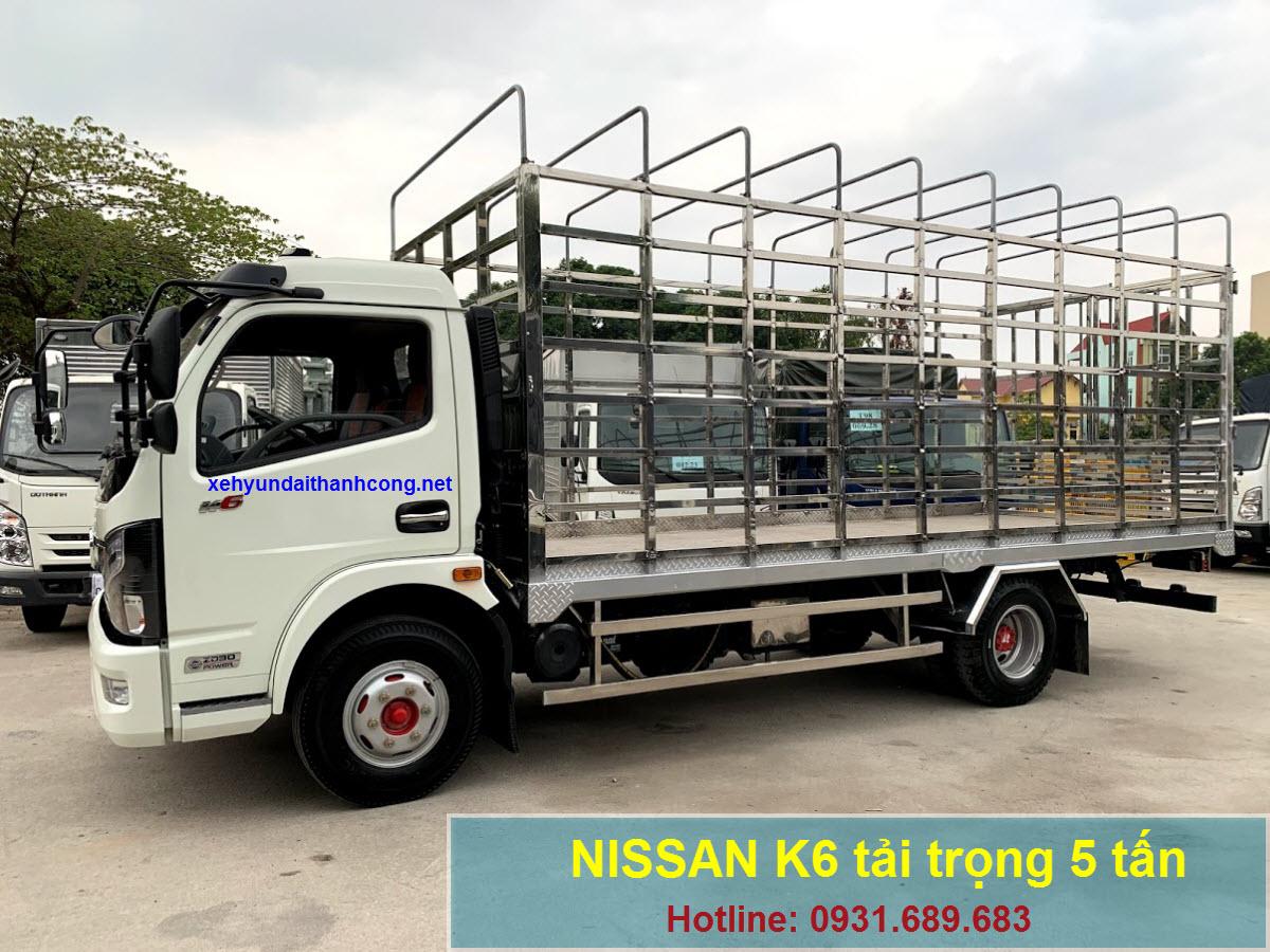 xe tải Nissan K6 5 tấn