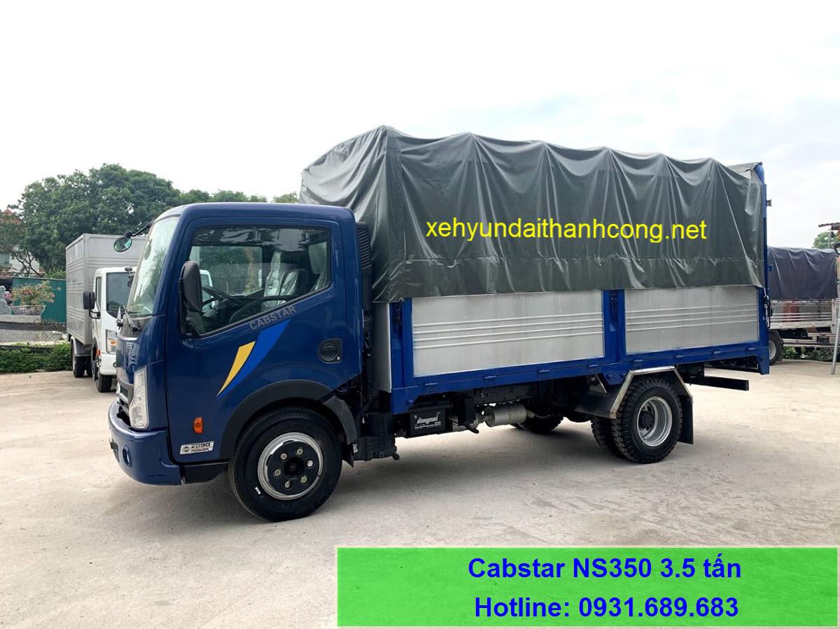 Nissan NS350 thùng bạt