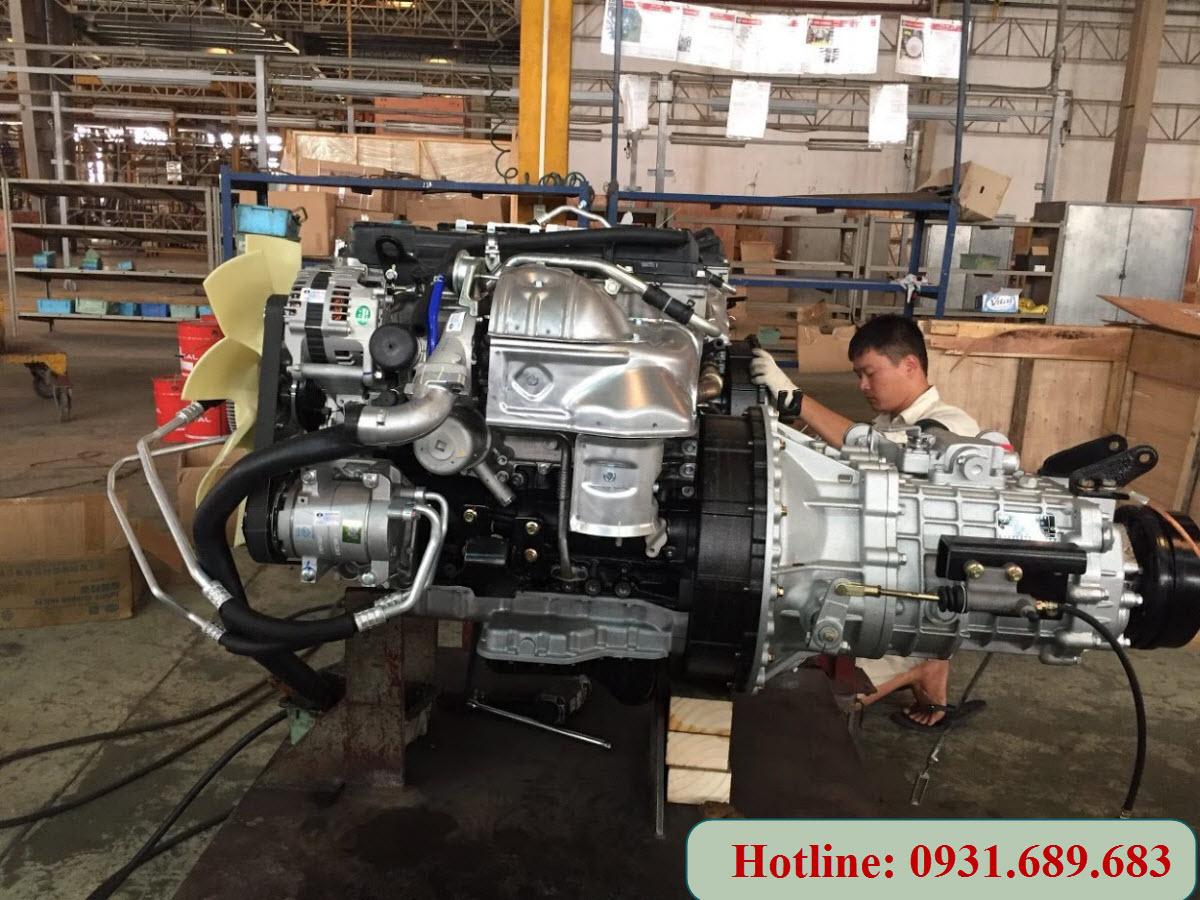 Động cơ Nissan NS350