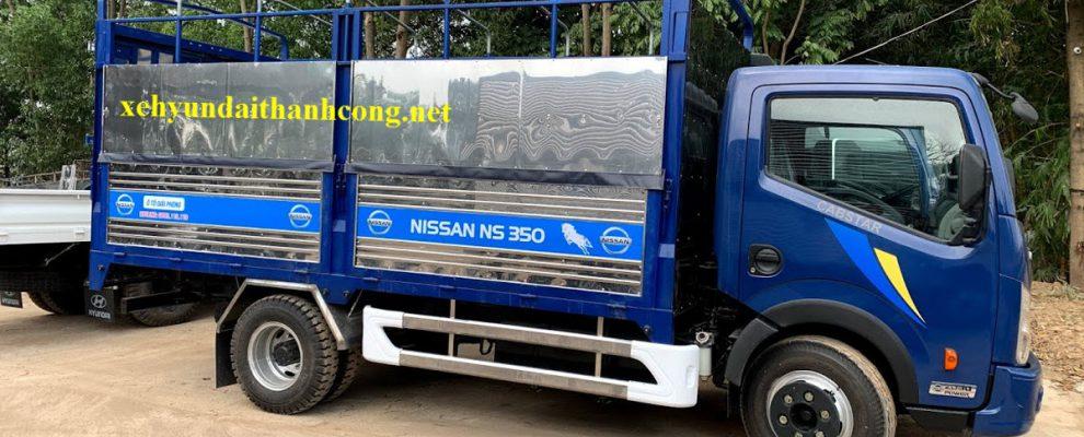 Giá xe tải Nissan Đồng Vàng 2021