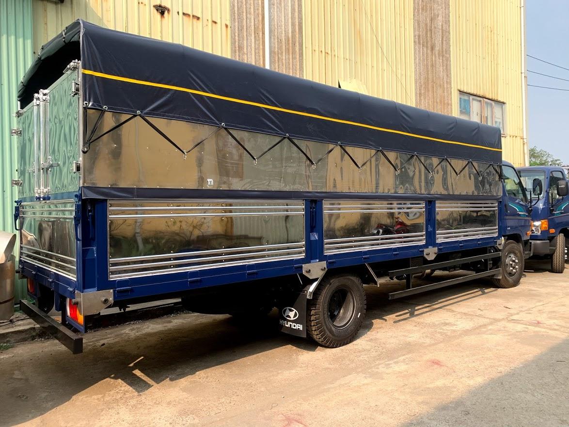 Hyundai 110xl 7 tấn thùng dài